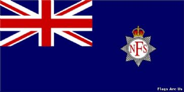 National Fire Service Ensign  (Blue)  (UK)